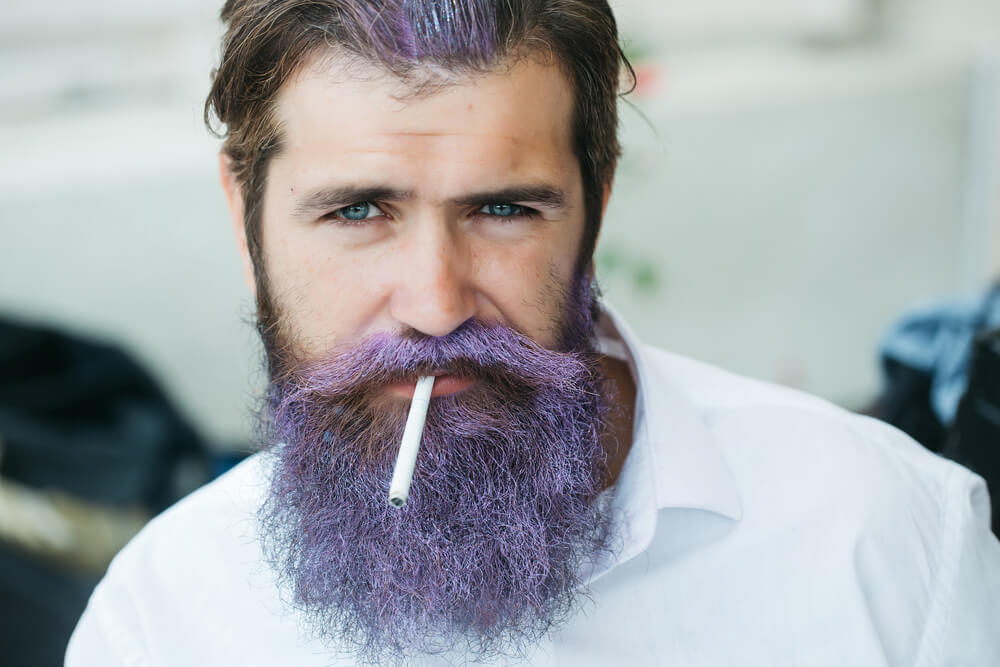 Teinture barbe