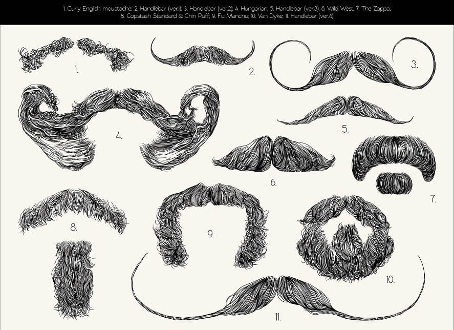 Style de moustache