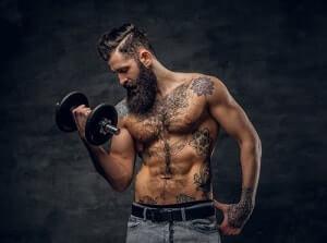 accelerateur de barbe : faire du sport