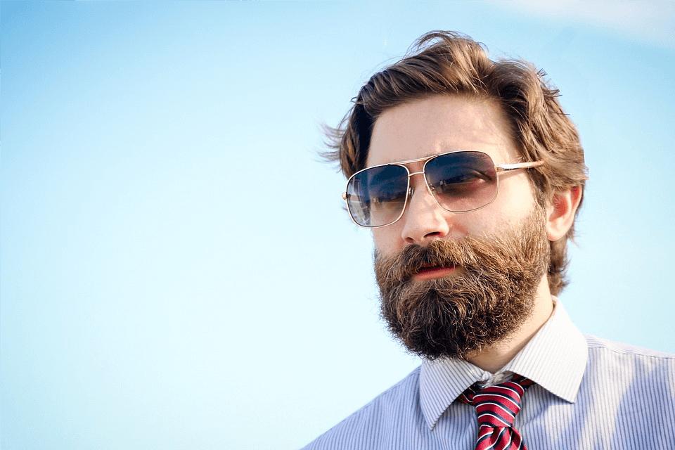 barbe au travail